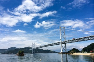 Innoshima Bridge on Shimanami Kaido Cycle Route