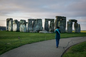 Stonehenge in early morning light