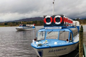 Windermere boats at the jetty at Waterhead
