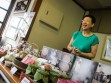 Lady in the Candy Store in Toyama, Japan
