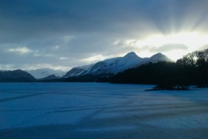 When Derwentwater freezes over