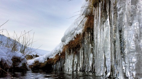Icicles in Raise Beck