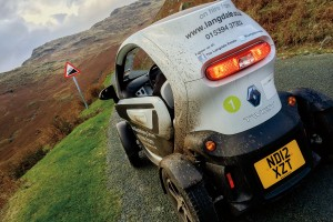 The Lakeland Twizy takes on the Wrynose Pass