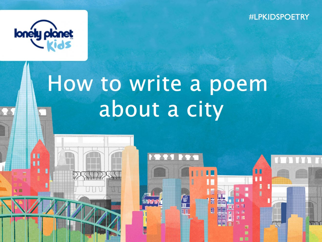 how to write a poem about a city poet in motion