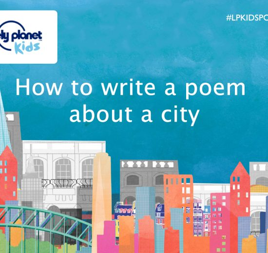 How to write a poem about a city